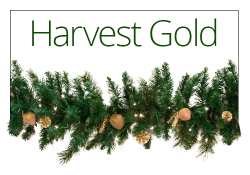 Harvest Gold Garland