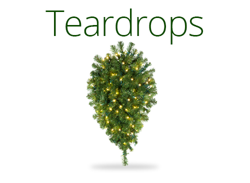 Teardrop Garlands
