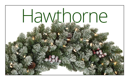 Hawthorne Christmas Wreaths