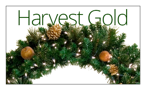 Harvest Gold Wreaths
