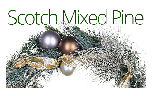 Scotch Mixed Pine Wreaths