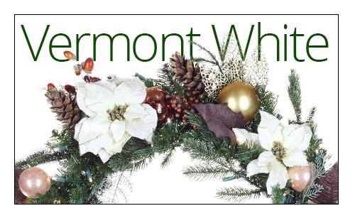 Vermont White Wreaths