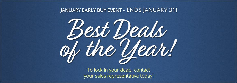 2019 January Early Buy Sale