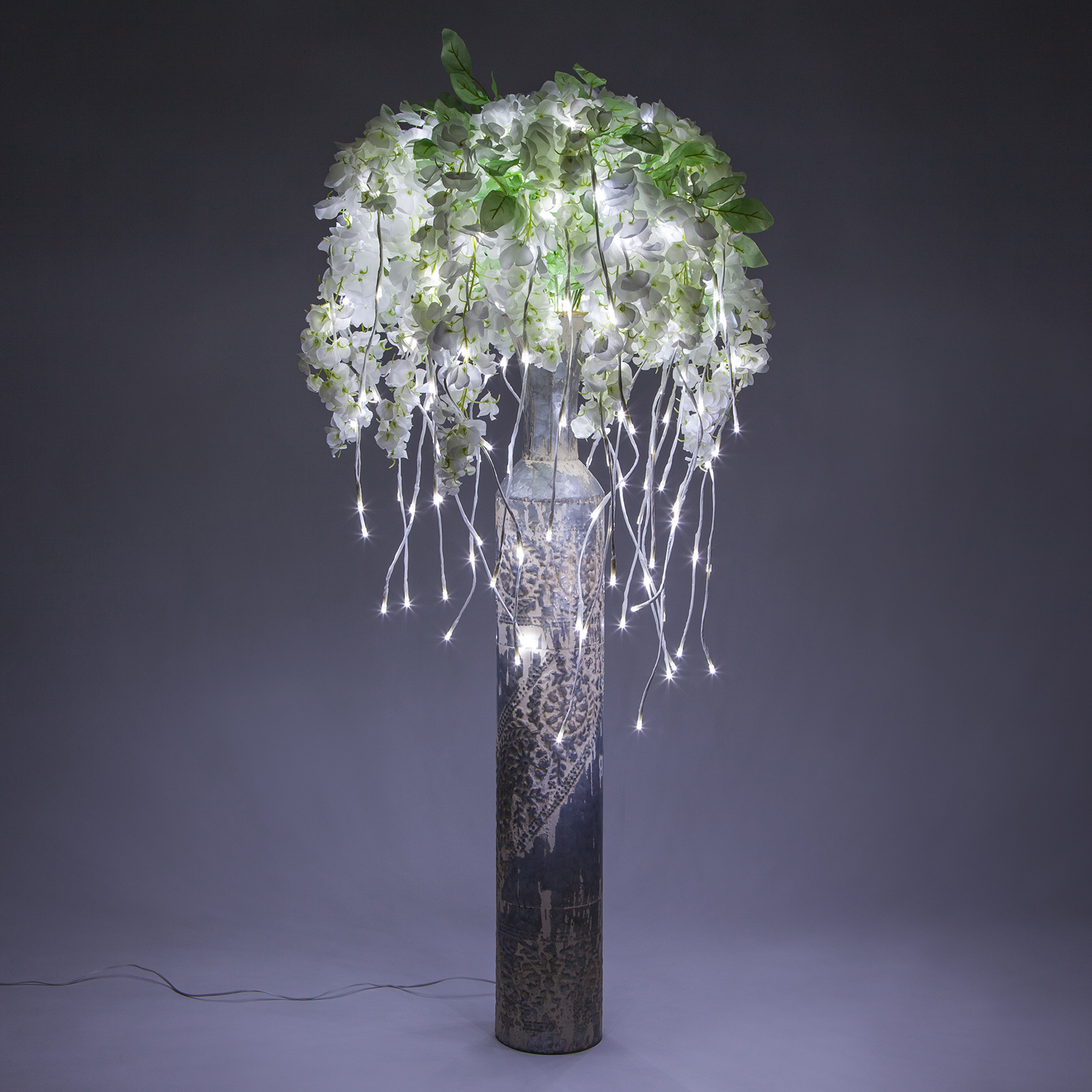 Willow Lighted Branch Wedding Event Faux Floral Arrangement