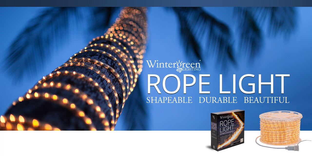 Wintergreen Rope Light