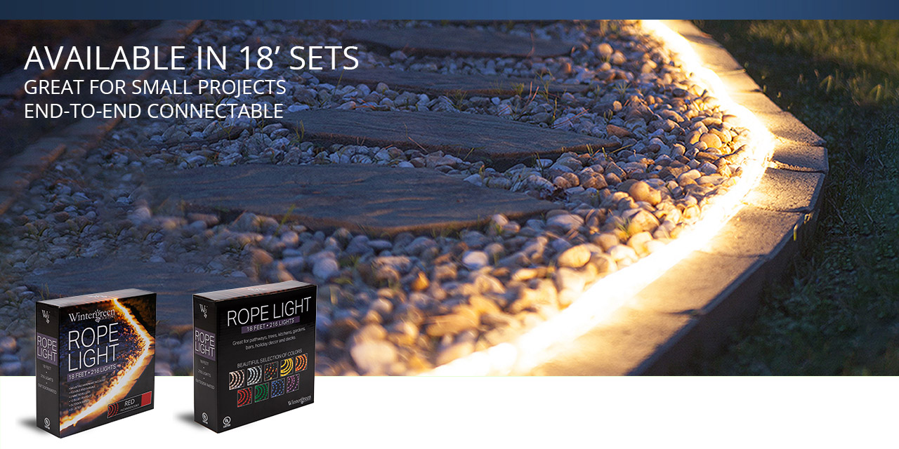 18 foot rope light kits